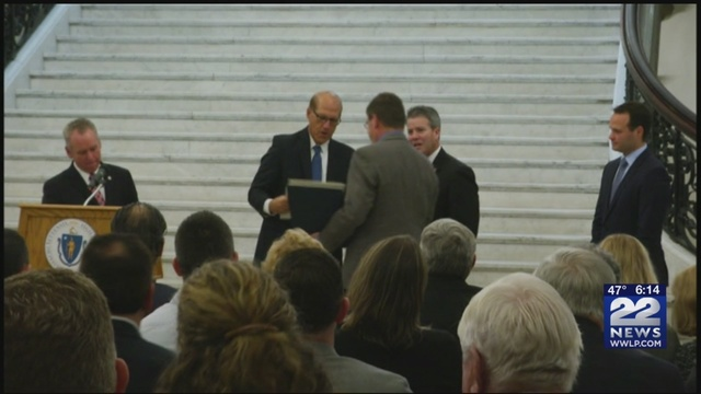 Massachusetts Legislators Honor Advance Welding in Statehouse Ceremony