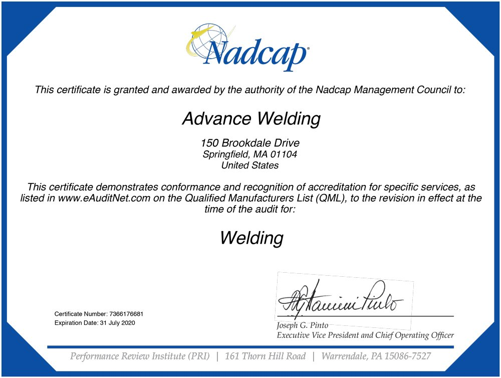 Nadcap Accreditation