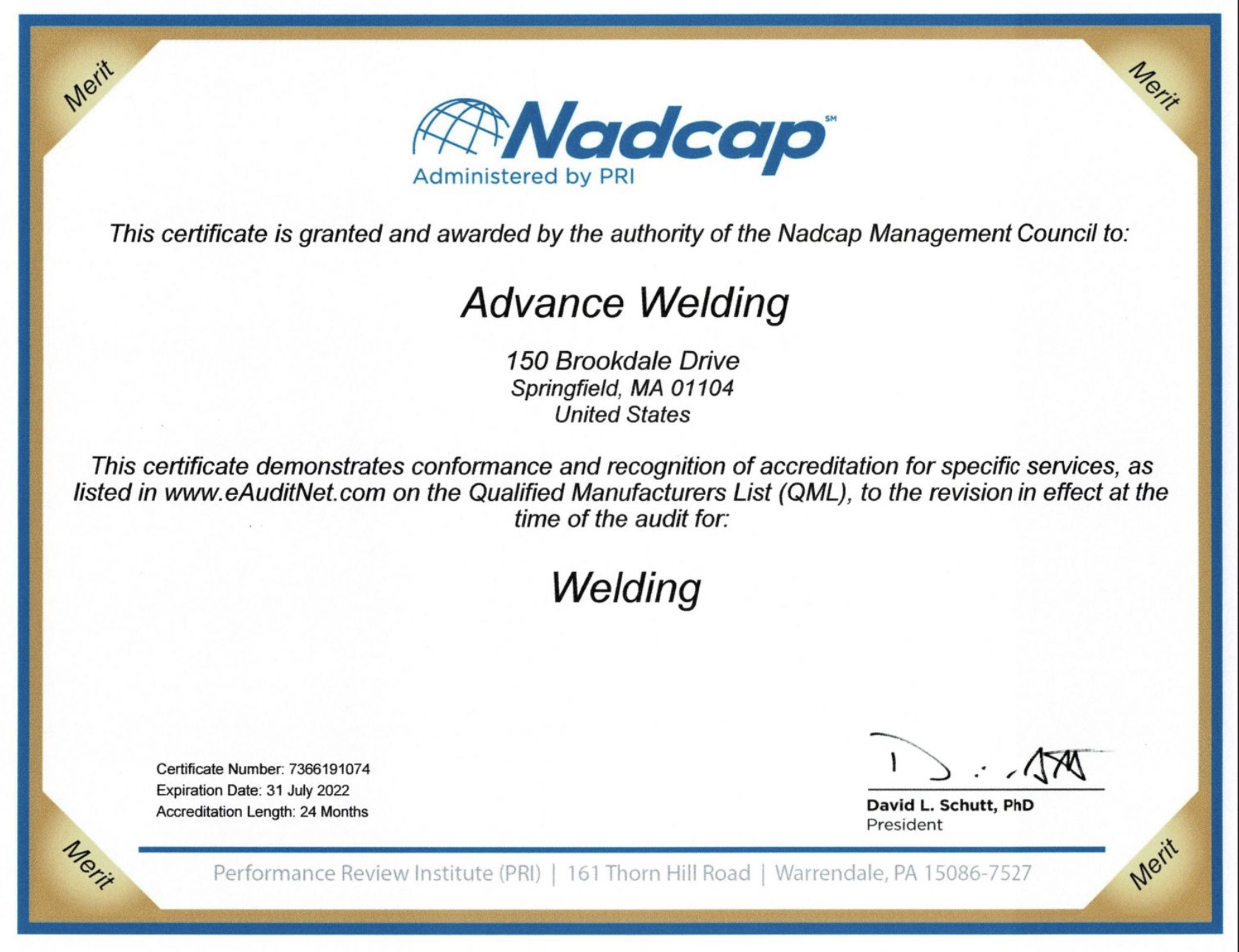 Nadcap Re-accreditation During a Pandemic
